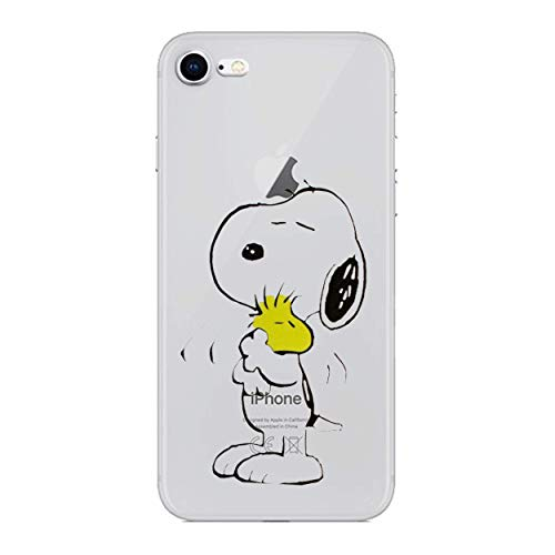 I-CHOOSE LIMITED Karikaturen Case Handyhülle für Apple iPhone 4/4s mit Schirmschutz/Gel/TPU/Snoopy & Woodstock (Homer Iphone Fall 4)