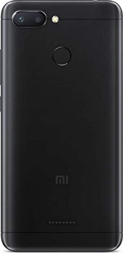 Mi Redmi 6 (Black, 3GB RAM, 64GB Storage)