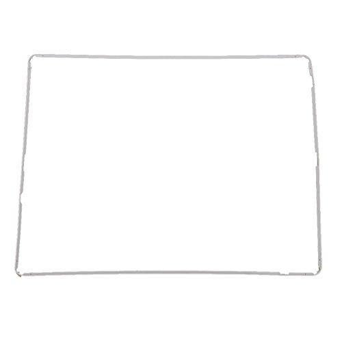 MagiDeal Touch Digitizer Mitte Rahmen Lünette Screen Unterstützung Halterteile Für Ipad 2 Weiß -