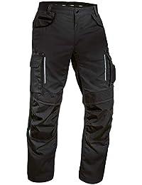 Uvex Tune-Up Arbeitshose für Herren - Atmungsaktive Bundhose mit Knietaschen