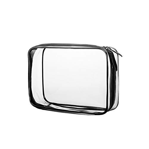 Cdet. 1x Bolso cosméticos Moda Transparente PVC Bolsa