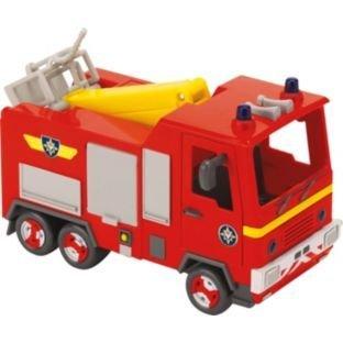 feuerwehrmann sam tankrucksack Feuerwehrmann Sam Feuerwehrauto mit Schlauch & ausziehbare Leiter