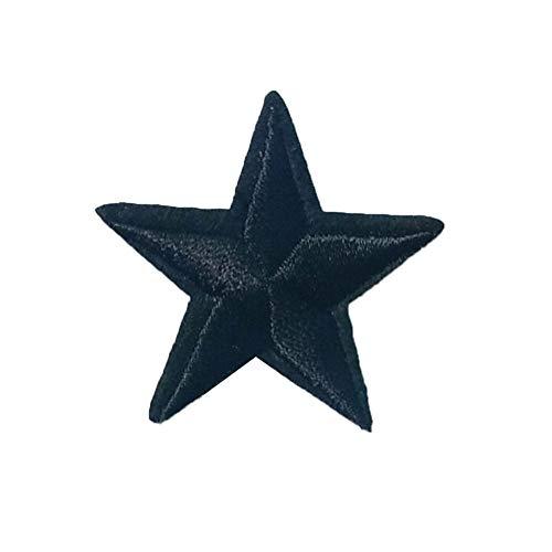 Ruikey 10Pcs Parches Estrellas Parches De Tela Bordada