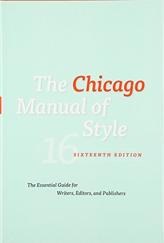 chicago manual of style pdf free