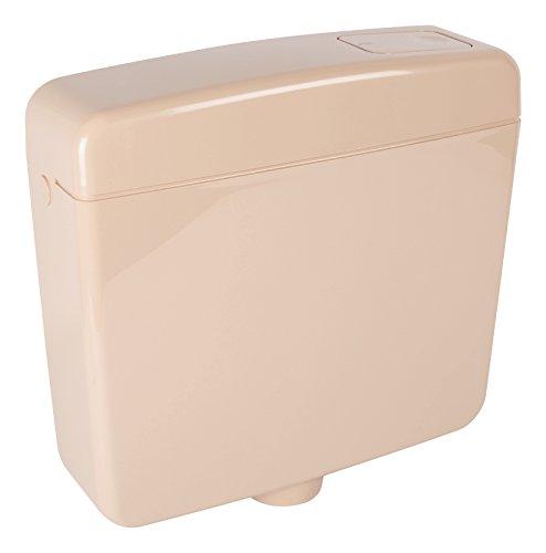 Spülkasten Opal | Kunststoff | Spül-Stopp-Funktion | 6-9 Liter | Tiefspülkasten | Beige