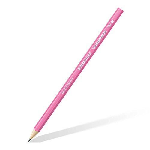 Staedtler 180 HB-F20 Bleistift Wopex HB, 12 Stück, neon pink