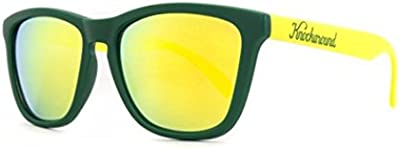Gafas de Sol Knockaround Classic Premium Green and Yellow / Yellow