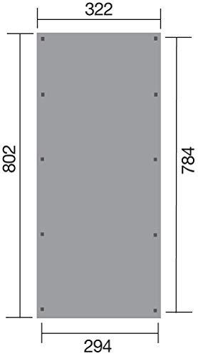 WEKA Tür: Einflügeltür