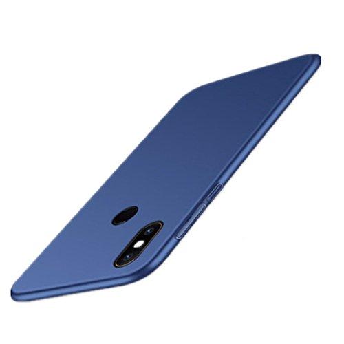 HDOMI Funda Xiaomi Mi Mix 2S, Súper Delgada Cover,Carcasa de Protección Trasera Caso para Xiaomi Mi Mix 2S (Azul)