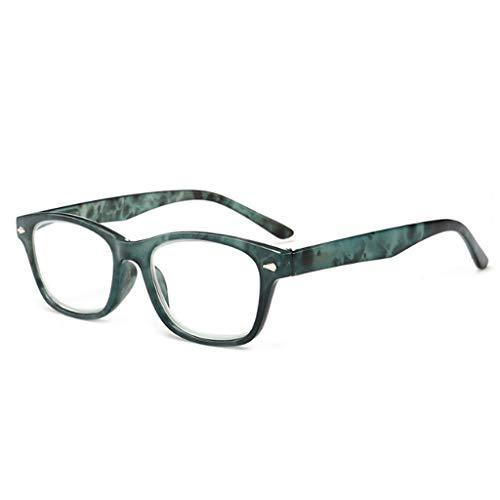 Kimruida Lesebrille Unisex - Presbyopic Brillen Brillen +1.00 Zu +4.00 Heiß