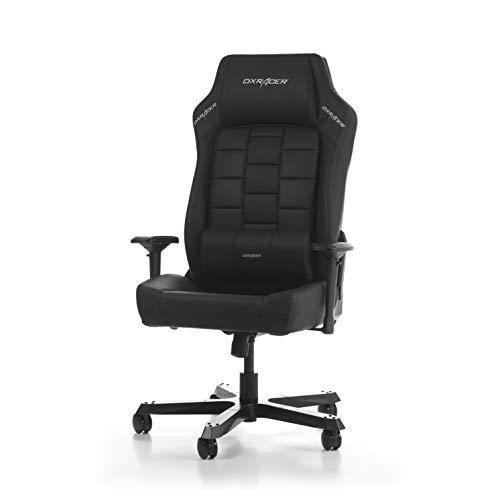 DXRacer (das Original) Boss B120 Gaming Chair für High End PC/PS4/XBOX/Nintendo, ergonomischer Schreibtischstuhl fürs Büro aus Kunstleder, Schwarz