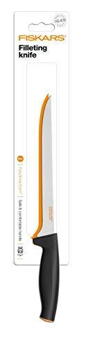 Fiskars Filetiermesser, Gesamtlänge: 32 cm, Qualitätsstahl/Kunststoff, Functional Form, 1014200