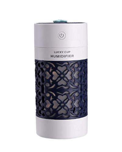 MLACOBD humidifierLucky Cup Humidificador USB Ultrasónico Aroma Difusor 3 en 1 mini...