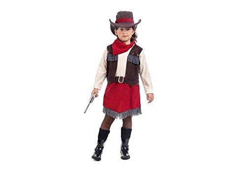 Limit Kinder-Kostüm Cowgirl Velma Größe 4(7/9Jahre), Mehrfarbig (177mi4)
