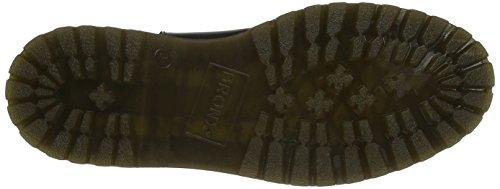 Bronx Damen Rifka-Chunky Chelsea Boots Schwarz (Black 01)