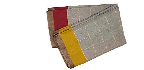 Nexgen Fashion Cotton Silk Saree (NSR003_Grey_Free Size)