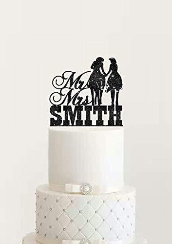 Wild West Party Supplies - Country Western Hochzeit Verlobung Cake Topper