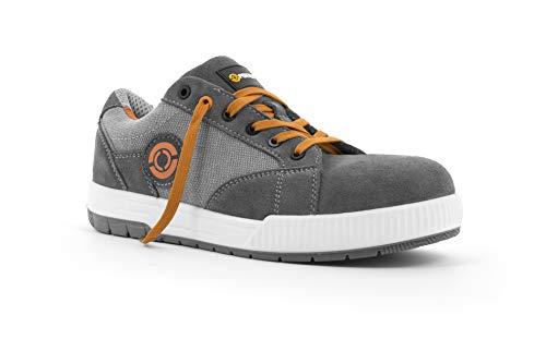 Foxter - Chaussures de sécurité | Hommes | Basses | Baskets de Travail | Légères et Respirantes | S1P SRC