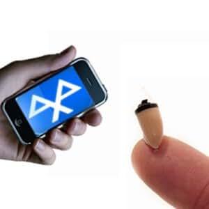 Micro oreillette sans fil pour téléphone bluetooth et Iphone 50H d'autonomie