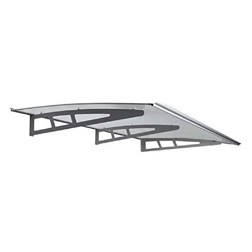 Pensilina tettoia Struttura in alluminio 190 x 95 cm Papillon