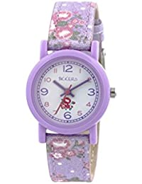 Tikkers children'TK0103 Analog Quarz Silikon, Violett