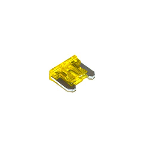 Unbekannt Flachstecksicherung 20A KFZ Auto Mini Sicherungen 11mm 30 Stück