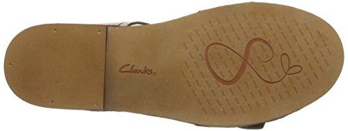 Clarks Cabaret Glitz, Sandales Bride arrière femme Marron (Tobacco Leather)