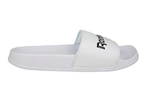 Reebok Classic Slide Unisex Badepantoletten weiß - 45,5
