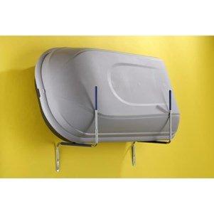 Mottez - supporto da parete per box portapacchi, pieghevole