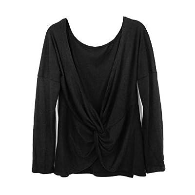Camiseta - Espalda Abierta y Nudo Casual
