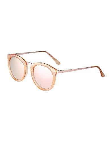 Le Specs Damen Sonnenbrille No Smirking Crystal Rose