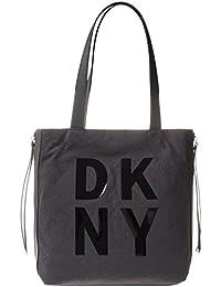 8ae73c751 DKNY Front Logo Mujer Tote Negro