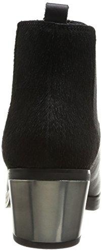 Calvin Klein Jeans IZZY BABY CALF/PONY, Stivali bassi Donna Nero (Schwarz (BLACK / BLK))