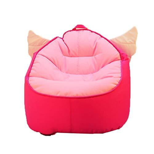 Kinder Kinder Gepolsterte Sessel Stoff Rosa Sitzsack Tragbare Kissen Geeignet Für Kinder Möbel Indoor Faule Stuhl (Color : Blue, Size : 27.5 * 24.8 * 22IN) -