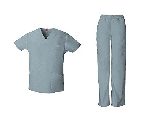 Everyday Scrubs Signature Herren Scrub Set Medium Tall Grey (Herren Scrubs Tall)