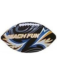 Neopreno Rugbyball / Fútbol Americano / Bola de playa en negro