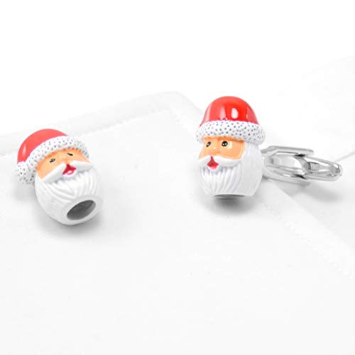 Lustige Santa Outfit - Manschettenknöpfe für Herren, Santa Claus