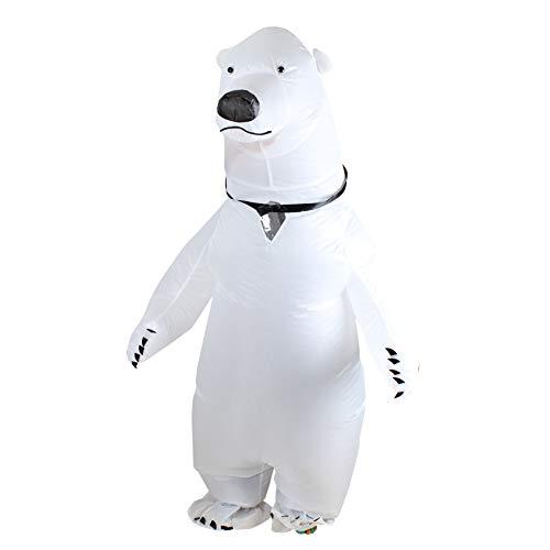 Eisbär Für Erwachsene Kostüm - Aufblasbare Kleidung Erwachsene Eisbär Kleid Cosplay Aufblasbare Kleid Karneval Party Maskerade Puppe Zeigen Requisiten
