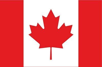 Autoaufkleber Sticker Fahne Kanada Flagge Aufkleber (Kanada Aufkleber)