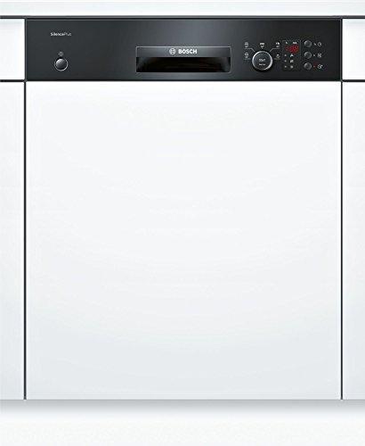 Bosch Serie 2 SMI25CB01E Semi intégré 13places A++ lave-vaisselle - Lave-vaisselles (Semi intégré, Blanc, Taille maximum (60 cm), Noir, boutons, Rotatif, 1,75 m)