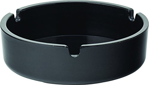 Ceniceros melamina negro - 10 unidades |