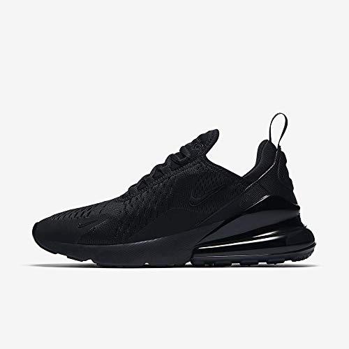 Nike Damen W Air Max 270 Laufschuhe, Schwarz (Black/Black/Black 006), 40.5 EU