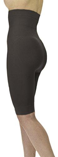 Slim N Lift Miederhose Mieder Shapewear Bauchweg Panty Figurformer Bodyshaper (XXL : 120-148 cm (44-46), Schwarz)