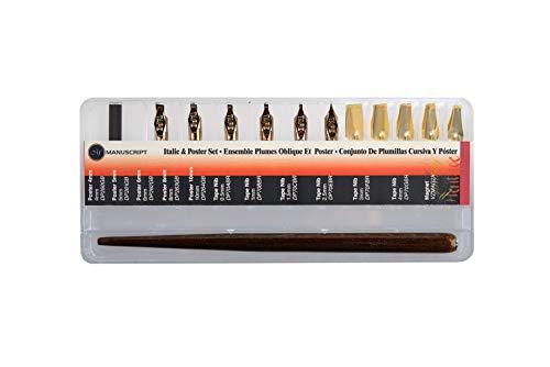 Manuscript - Kit di punte per penne da caligrafia e pennino