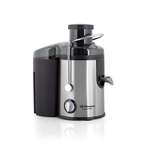 Orbegozo LI 5060 - Licuadora para verduras y frutas, acero inoxidable, boca ancha de 65 mm, sistema...