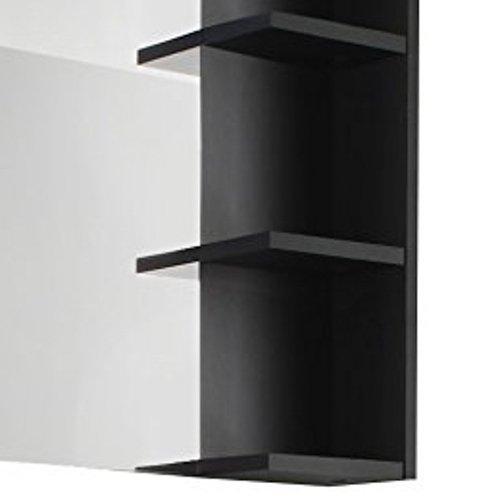 trendteam BC40121 Bad Wandspiegel mit Ablage grau melamin, BxHxT 79x67x14 cm - 4