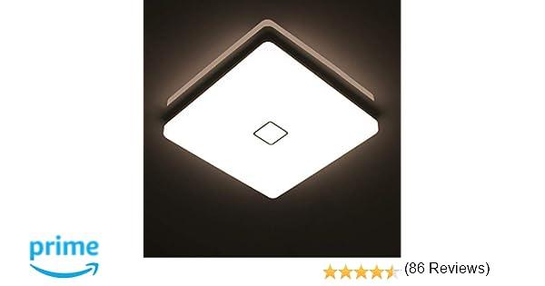 Plafoniere Ultra Sottile Salotto : Öuesen 24w led lampada plafoniera impermeabile a soffitto sottile