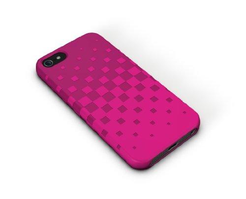 XtremeMac IPP-TWN-33 Tuffwrap Bubble Gum Silikon-Schutzhülle für Apple iPhone 5 pink -