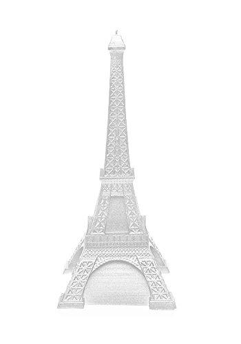 Kerze - Eiffelturm - silber
