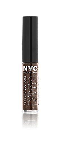 N.Y.C. New York Color Sparkle Eye Dust, Brown Luster, 0.105 Ounce by N.Y.C. (Sparkle Eye Dust)